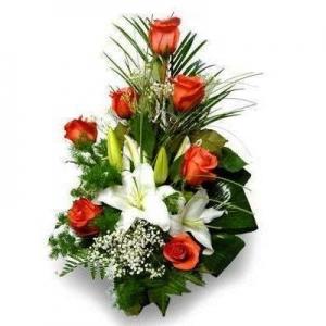 Букет цветно ухание - Саксийни цветя Варна Magic Flowers