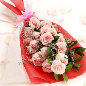Букет Розова магия 15 броя - Онлайн магазин за цветя в саксия Magic Flowers