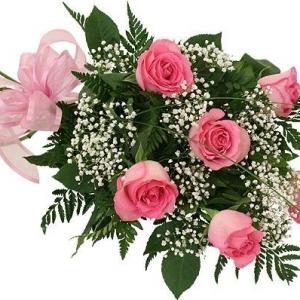 Букет Розови Рози - Онлайн магазин за цветя в саксия Magic Flowers