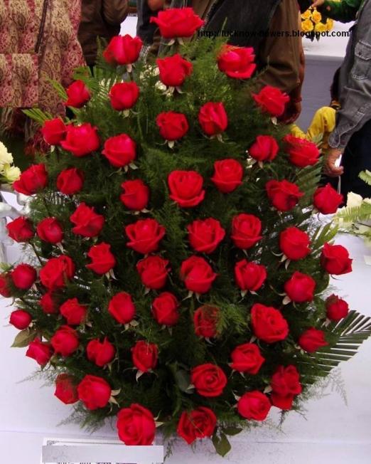 Red Queen - Доставка на цветя в саксия Magic Flowers