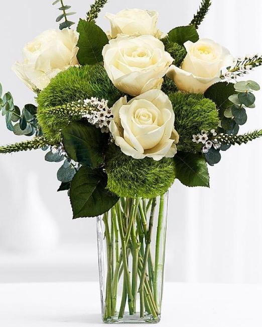 Букет Вероника - Саксийни цветя Варна Magic Flowers