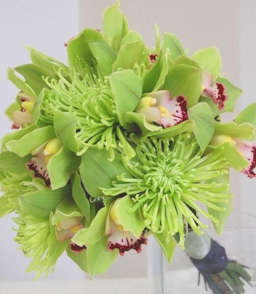 Зелен букет - Доставка на саксийни цветя Варна Magic Flowers